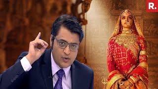 Padmavati Row: Deepika Padukone TROLLED, Theatre Vandalized   The Debate With Arnab Goswami