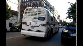 NYCTA:1999 Novabus T80206 RTS #5018 on a Broadway bound M116