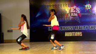Muskan & Nidhi Sharma  at YES I AM  Bhopal Audition