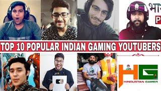 Top 10 Popular INDIAN GAMING Youtubers  2018  Beastboyshub Vs Carryislive