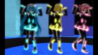 【MMD】Numa Numa - Miku, Teto & Neru