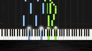 Ludovico Einaudi - Divenire - Piano Tutorial by PlutaX - Synthesia