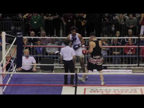 Elite Championship Qtr Final Male 69kg Charlie Stevens vs Joe Laws