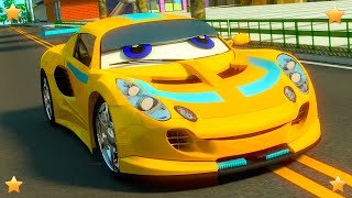 Colors with Cars | Kindergarten Kids Song & Nursery Rhyme Collection by  by Little Treehouse S03E127