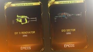 ME TOCAN LAS 2 NUEVAS ARMAS DE BLACK OPS 3!! ( DIY 11 RENOVATOR & D13 SECTOR)