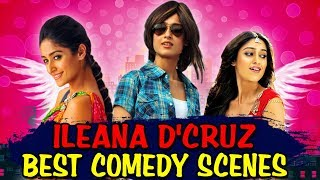 Ileana D Cruz Best Comedy Scenes | South Indian Hindi Dubbed Best Comedy Scenes