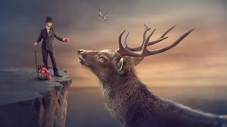 Big Deer - Surreal Photoshop manipulation Tutorial