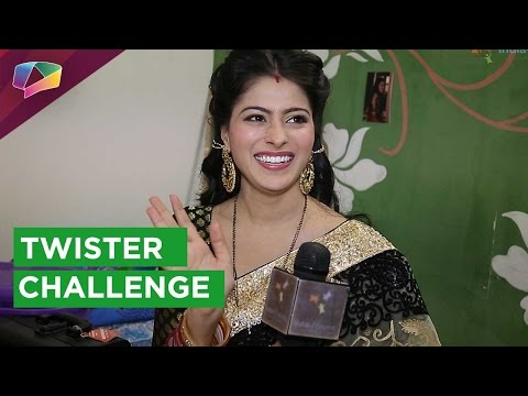 Aparna Dixit takes up the 'Twister Challenge'