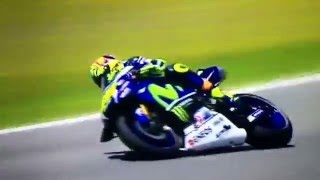 Valentino Rossi Moto GP Spagna Jerez•24.04.2016•Guido Meda se la impenna così butto la patente