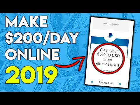 How To Make Money Online 2019 ($200+ Per Day!)