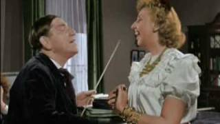 The Three Stooges: Professor Shemp gives a singing lesson. IN COLOR