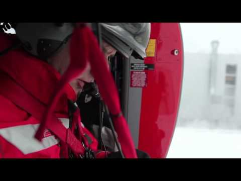 Rega: searching for avalanche victims