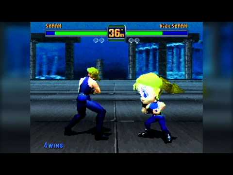Fighters Megamix Review Saturn PANDAMONIUM GAME REVIEWS