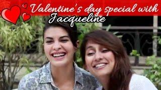 Jacqueline Fernandez and Anusha Together to Celebrate Love Day | Anusha Dandekar