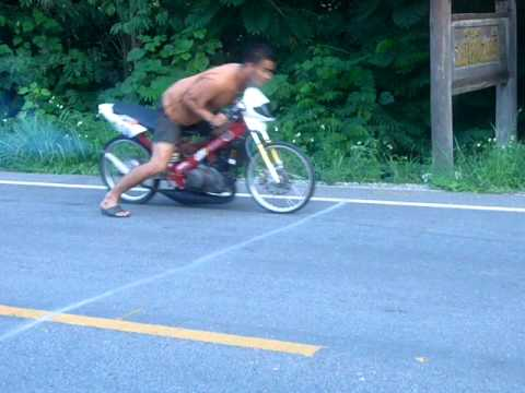 Drag Bike Aun Motor Lamphun Thailand