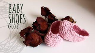 Tutorial Baby Crochet Shoes