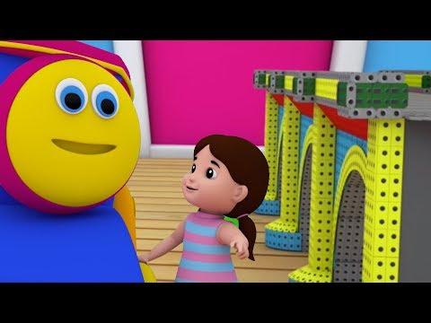 bob kereta | london jembatan | sajak pembibitan | Kids Songs | London Bridge Is Falling Down