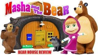 Masha and the Bear Build the Bear House