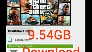 GTA 5 Apk & OBB 9.54GB Download on your Android