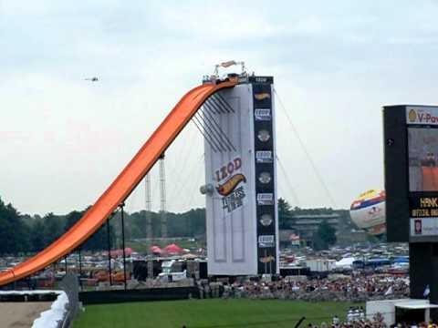 Fearless at the Indy 500 Record Jump