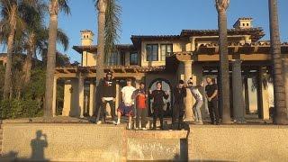 VISITING THE FAZE HOUSE LA!!