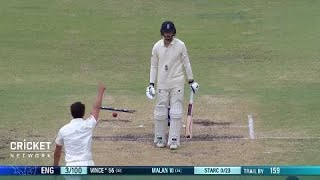 No answer to that ball from Starc: Vince