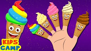 Ice Cream Finger Family Song | Finger Family Rhymes & Baby Songs by Kidscamp