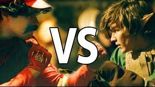 Mario VS Link / Zelda  (Epic Battle from Mario Warfare)