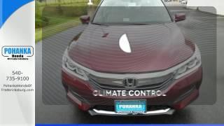 New 2017 Honda Accord Fredericksburg VA Richmond, VA #FHA017505 - SOLD