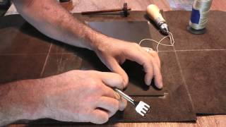 Making Leather Haversack Part 1