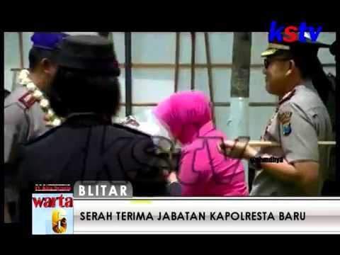 SUASANA HARU MEWARNAI PELEPASAN KAPOLRES BLITAR LAMA  (06 12 2017)