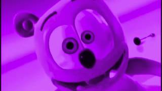 Funny Bear Violet COLORFUL Gummibär PURPLE French Gummy Bear Song