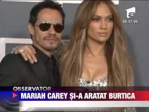 Mariah Carey a pozat nud 7 APRILIE 2011