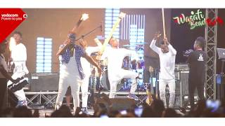 Rayvanny live performance in Vodacom Wasafi Beach Dar es salaam