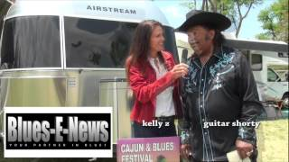 Guitar Shorty (David William Kearney) - Kelly Z - Blues-E-News Interview