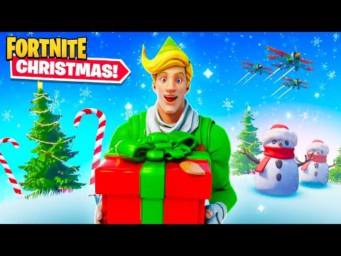 The ELF Is BACK Christmas Fortnite