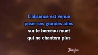 Karaoké L'enfant d'un autre - Serge Lama *
