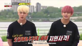 running man ep 300 dance style between old and new dance