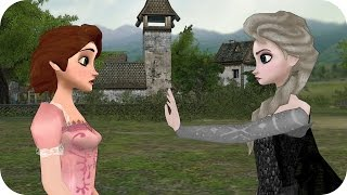 Evil Sister Attacks Rapunzel! Two Sisters Episode 19 - Queen & Princess