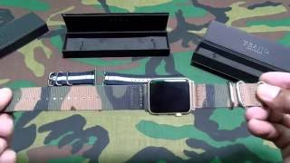 Y-band Apple Watch Woven Nylon Fabric Replacement Strap