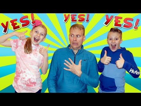 Dad Says YES to Everything Kids Ask For 24 Hours Challenge