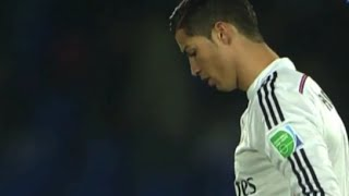 Ronaldo Amazing skills *Rabona kick/Bicycle kick* vs Cruz Azul 12-17-2014