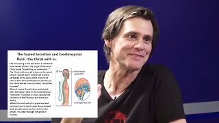 Jim Carrey spoke on the GREATEST secret in humanity?The science of the SACRED SECRETION/CHRISTwithin