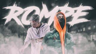 ECKO - ROMPE (Ft Papichamp x DJ Tao) | Lyric Video