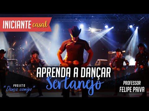 INICIANTE Aprenda a dançar Sertanejo Universitário Casal Iniciante DVD Felipe Paiva Vol.2