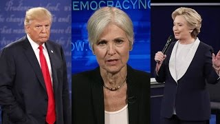 Part 1: Jill Stein Spars with Clinton & Trump in