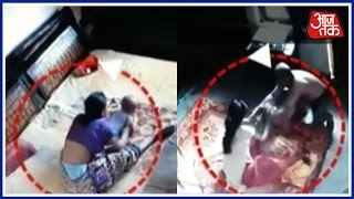 Caught On Camera: Mother Found Beating Toddler In Bareilly, UP