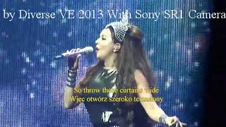 One Day Like This (Jeden dzień jak ten) Sarah Brightman Dreamchaser World Tour 2013 Performance