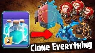 Max Clone Spell With Electro Dragon LavaLoonion TH12 War Attack | Clash of Clans