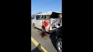 حادث معلمات المخواة بوادي الأحسبة   (  1 - صفر - 1436 هـ )